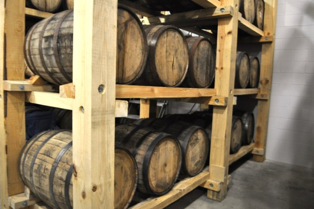 Bayou Rum Aging in Oak Barrels at the Louisiana Spirits Distillery