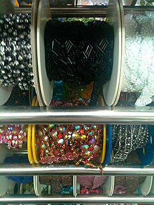 All kinds of beads