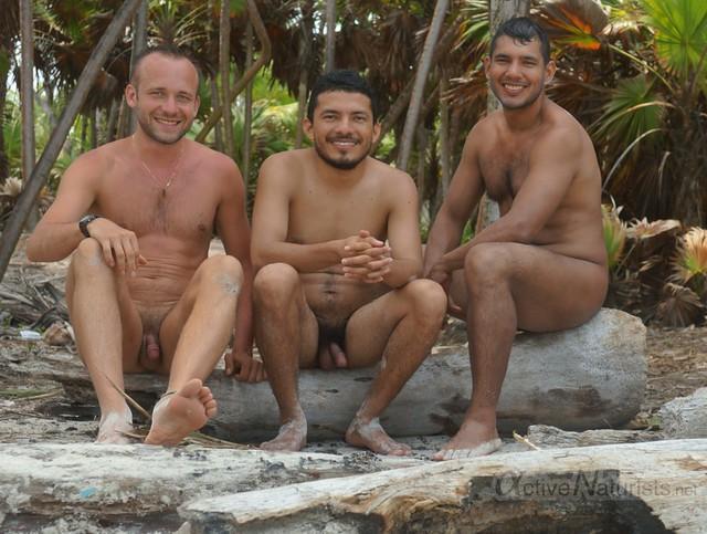 naturist 0013 Sian Kaan beach, Quintana Roo, Mexico