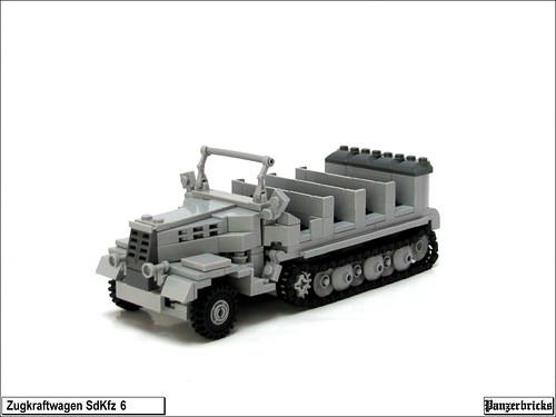 SdKfz 6 de Panzerbricks