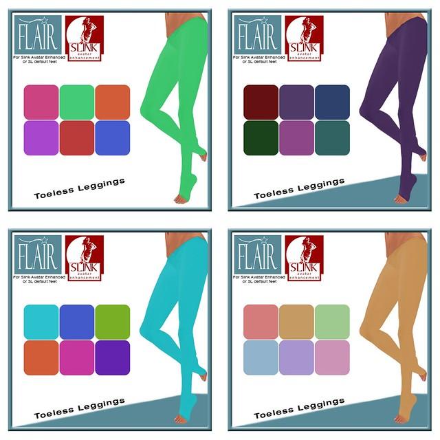 Flair - Toeless Leggings - Vendors Coll 1