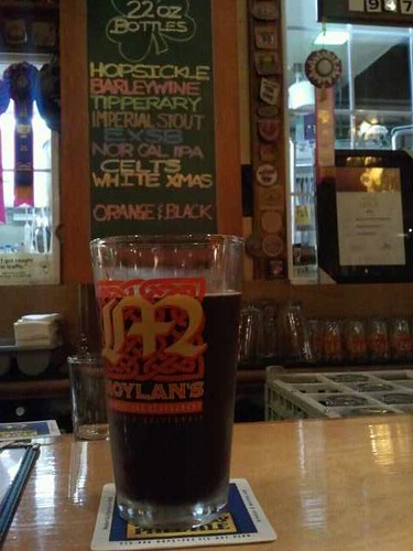 Black and orange at Moylans Brewery