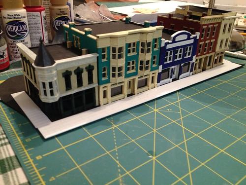 Main Street... Planning sidewalks by BGTwinDad