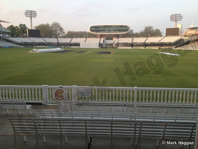 The view from The Long Room at Lord's