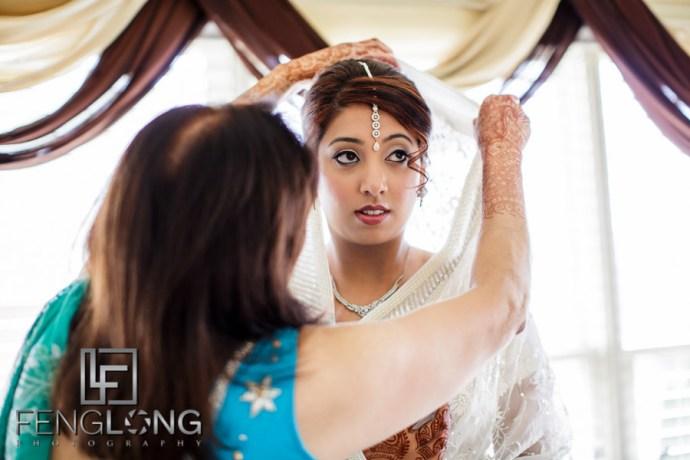 Ismaili Indian bride before Nikkah
