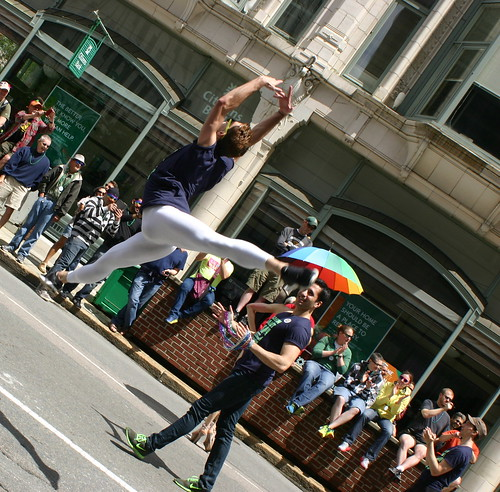 Boston Ballet represents at Pride
