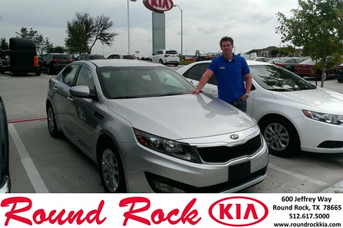 Thank you to Mark Anders on the 2013 Kia Optima from Ruth Largaesapada and everyone at Round Rock Kia! by RoundRockKia
