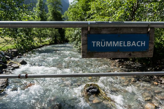 Trummelbach, Lauterbrunnen Valley, Switzerland