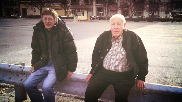 Uncle Randy and Grandpa