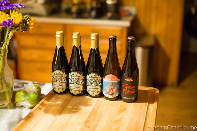 Wicked Weed Beer Haul, 11-2016