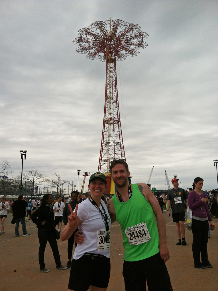 JO + DM after the Brooklyn Half
