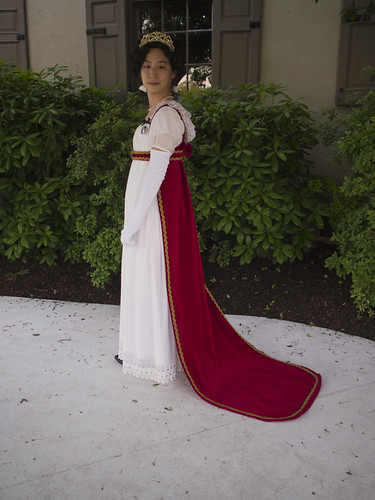Napoleonic Era Court Gown