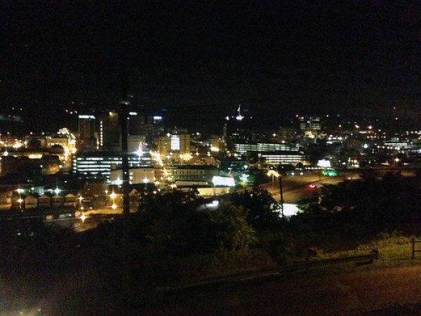 Nighttime view from Capitol Hill