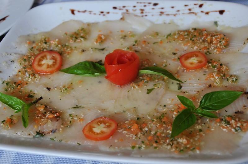 Thai Fish Carpaccio