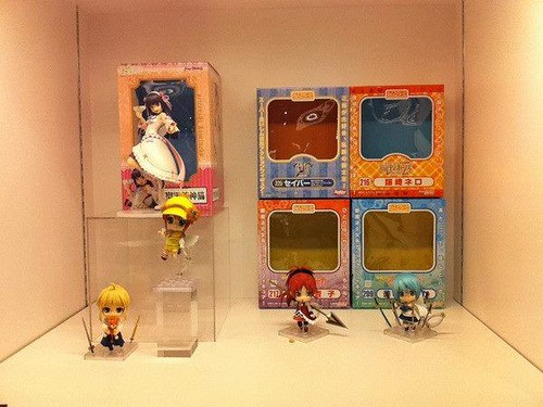Some upcoming Nendoroid and their respective boxes