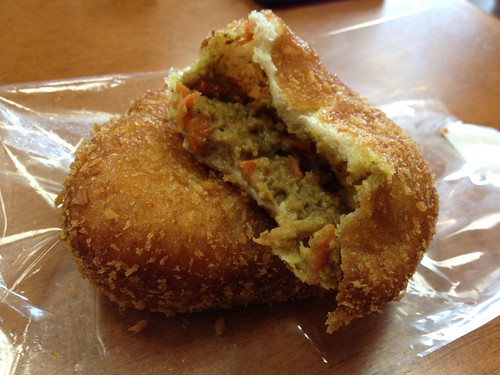 japanese curry donut