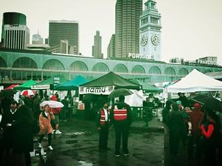 Ferry building farmers market. Love