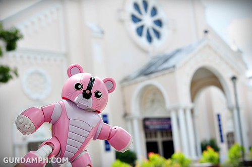 Pink Bearguy at Batac Church