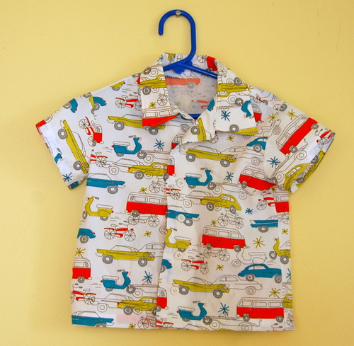 Birch fabrics car shirt