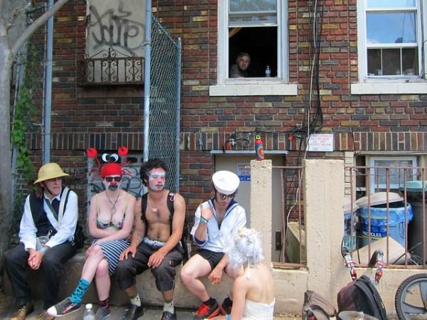 Coney Island Mermaid Parade 2012: Townie