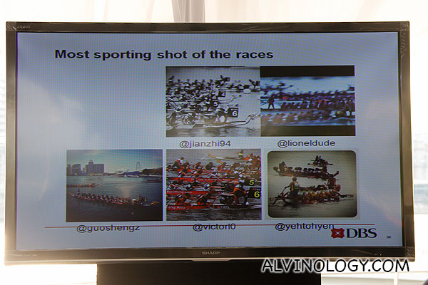 Five most sporting shots of the race