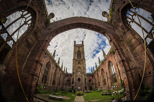 St Luke's Bombed-Out Church, Liverpool