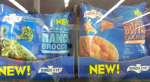 Birds Eye Steamfresh Flavor Full Ranch Broccoli and Buffalo Cauliflower