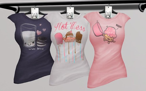 [A] Limited - Kawaii Tees, Pack 3