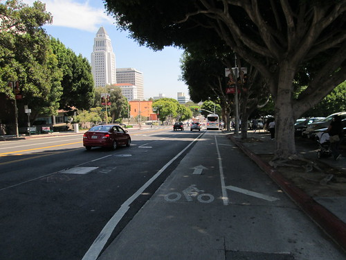 1st Street Bike Lane