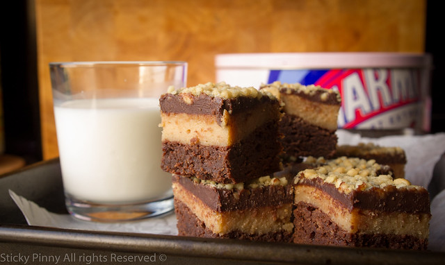 Chocolate Peanut Butter Cheesecake Brownies 2