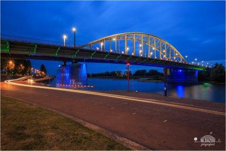 Het foute blauwe uur | Wrong Blue Hour John Frostbridge @Arnhem