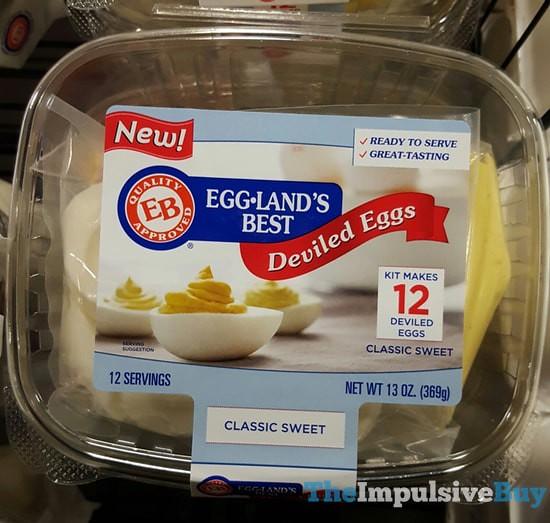 Eggland's Best Deviled Eggs