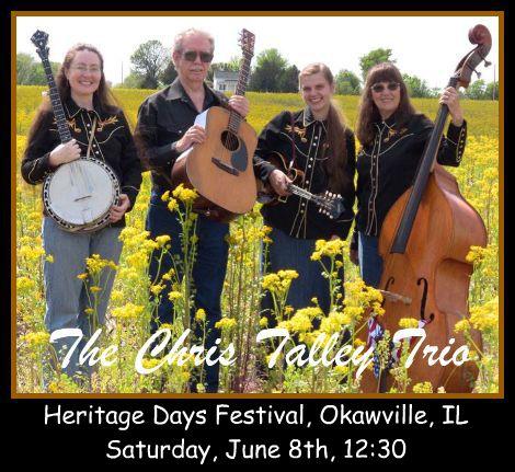 The Chris Talley Trio 6-8-13