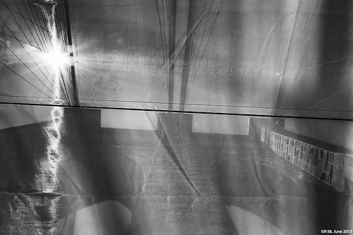 Veiled Brooklyn Bridge by LilFr38