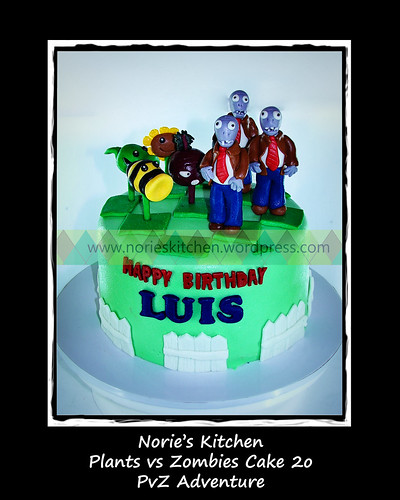 Norie's Kitchen - Plants vs Zombies 2 Cake 20 by Norie's Kitchen