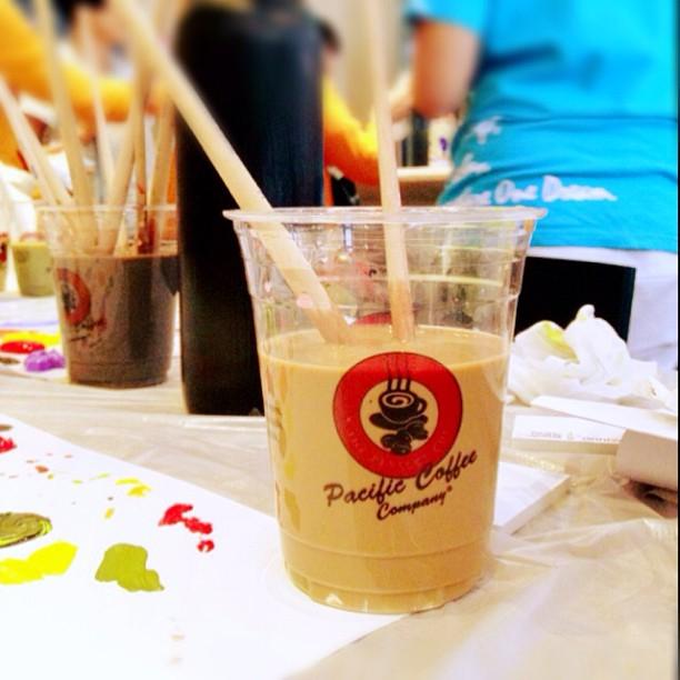 Don't drink! #pacificcoffee #pacificcoffeeemporium