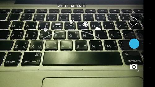 ตัวเลือก White balance ของ LG Nexus 5