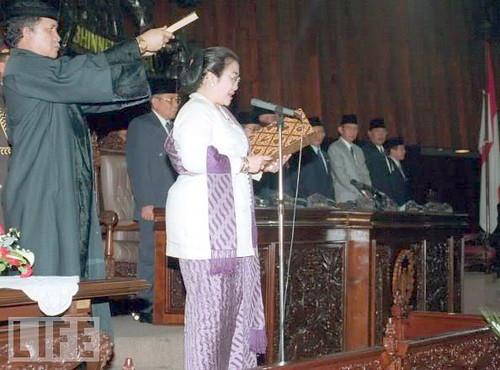 Sumpah Presiden Megawati 1