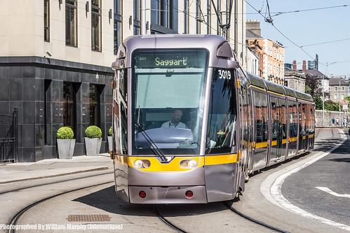 Luas Tram Near Heuston Station (Dublin) by infomatique