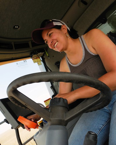 Ashley in the combine