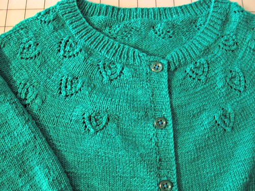 Peack Eyes Cardigan