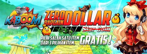 Kaboom Zero Bargain Dollar by IAHGames Indo