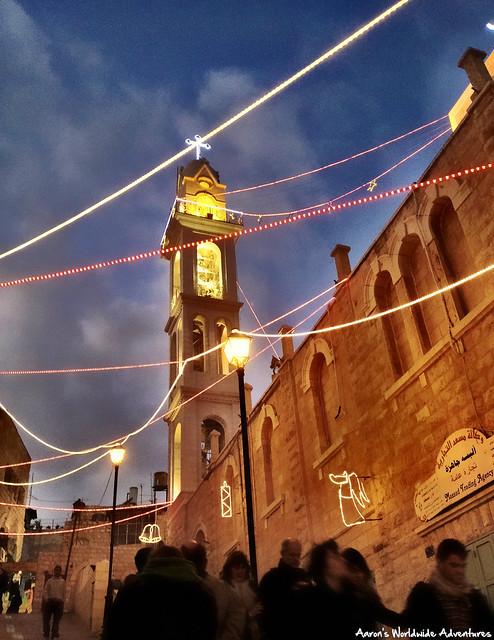 Christmas Eve Nightfall in Bethlehem