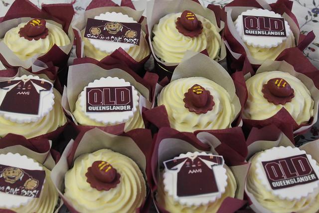 State Of Origin Cupcakes