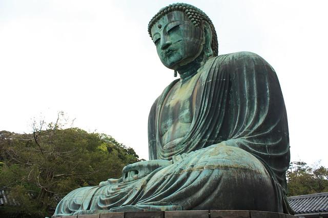 Kamakura Buddha Statue (1/2)