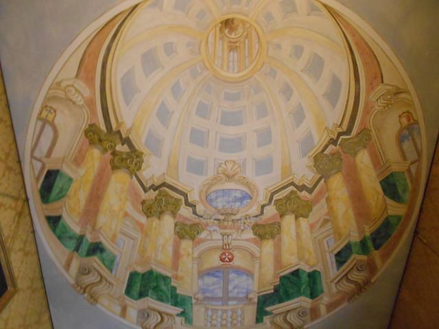Detalle de la Capilla de la Casa Rocca Piccola