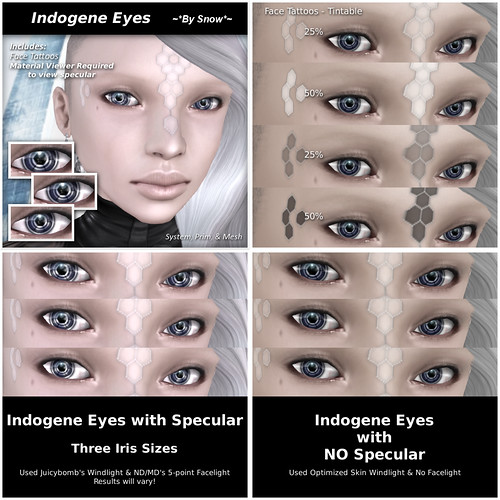 Indogene Eye Promos