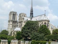Notre Dame seen from Pont l'Archevêché