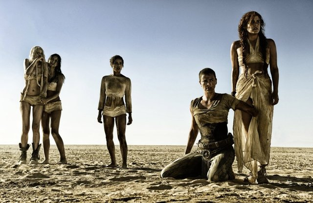 Five out of six women in Mad Max: Fury Road. Credit: Jasin Boland