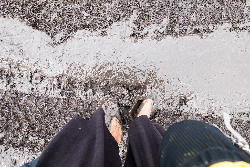 That is some serious mud.